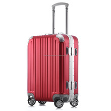 China factory aluminum trolley luggage 20 24 inch carry on luggage tour case