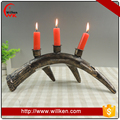 christmas ornament resin deer antler candle holder