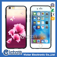 Strong mobile phone Matte PC with printing TPU border 2in1 case for iphone 7 cover