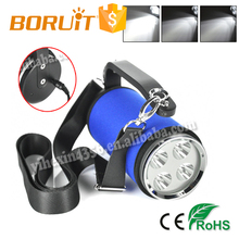 Boruit Highest Explosion Proof Searchlight Powerful Search Light Rechareable with Power Remind Function
