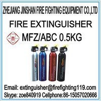 Jinshan 0.5kg ABC dry powder portable car fire extinguisher