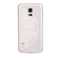 Elegant Design TPU case for Samsung S5 Clear and Flower