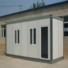 affordable one bedroom prefab container house Low-cost Recycled Good Quality prefab house designs for kenya