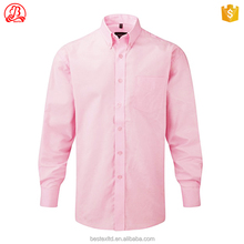 Wholesale 100% microfiber polyester old fashioned long sleeves thumb hole custom traditional work shirts for men