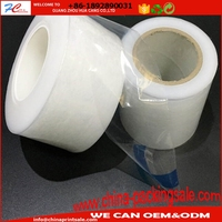 Factory price custom printing shrinkable pe shrink film with paper core tube