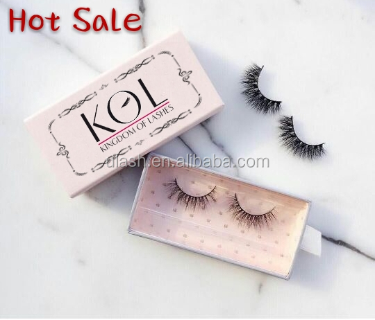 100% Real Mink Lashes Clear Band Custom Own Logo High Quality Mink Lashes