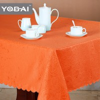 Damask Rectangular Cloth Dining Table Cover