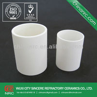 Wear resisting alumina ceramic pipe manufacturer,Thermal shock resistance is strong