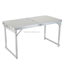 2016 lightweight outdoor portable aluminum folding table with chairs JF-15-21