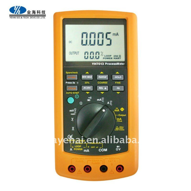 DMM YH7013 Process Calibrator Multimeter Equivalent to Fluke-787 ProcessMeter