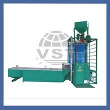 New design polyurethane spray EPS foaming machine