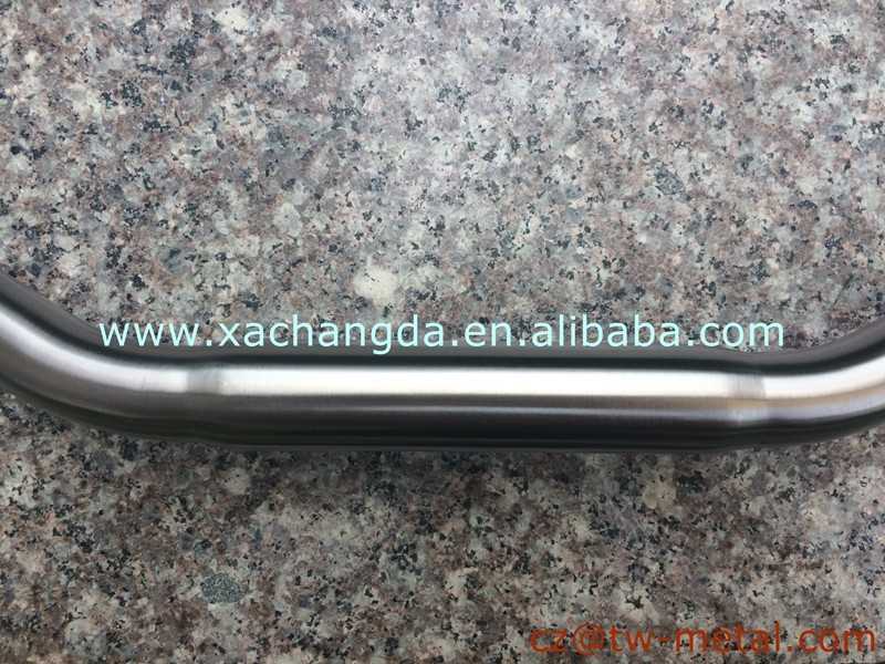 OEM Titanium road bicycle handlerbar Customized road bike hanale bar