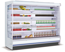 Large Capacity 2017 Popular Vertical Type Supermarket Open Display Cooler