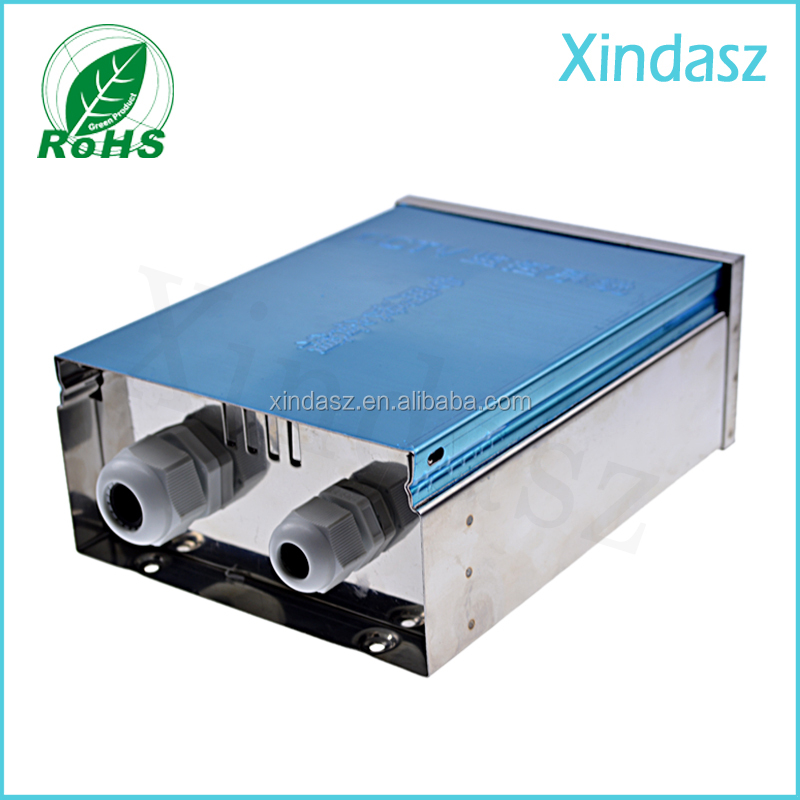 180*135*68mm aluminum power amplifier enclosure/chassis /AMP box with terminals