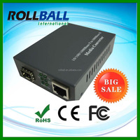 External Power 10/100/1000m sfp to ethernet converter