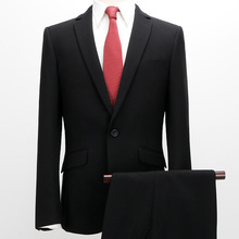 Custom made tuxedo serge fabric mens wedding suit men slim fit suits