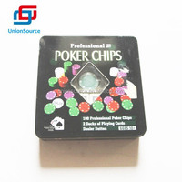 Texas HolD'em Casino Style Poker Set