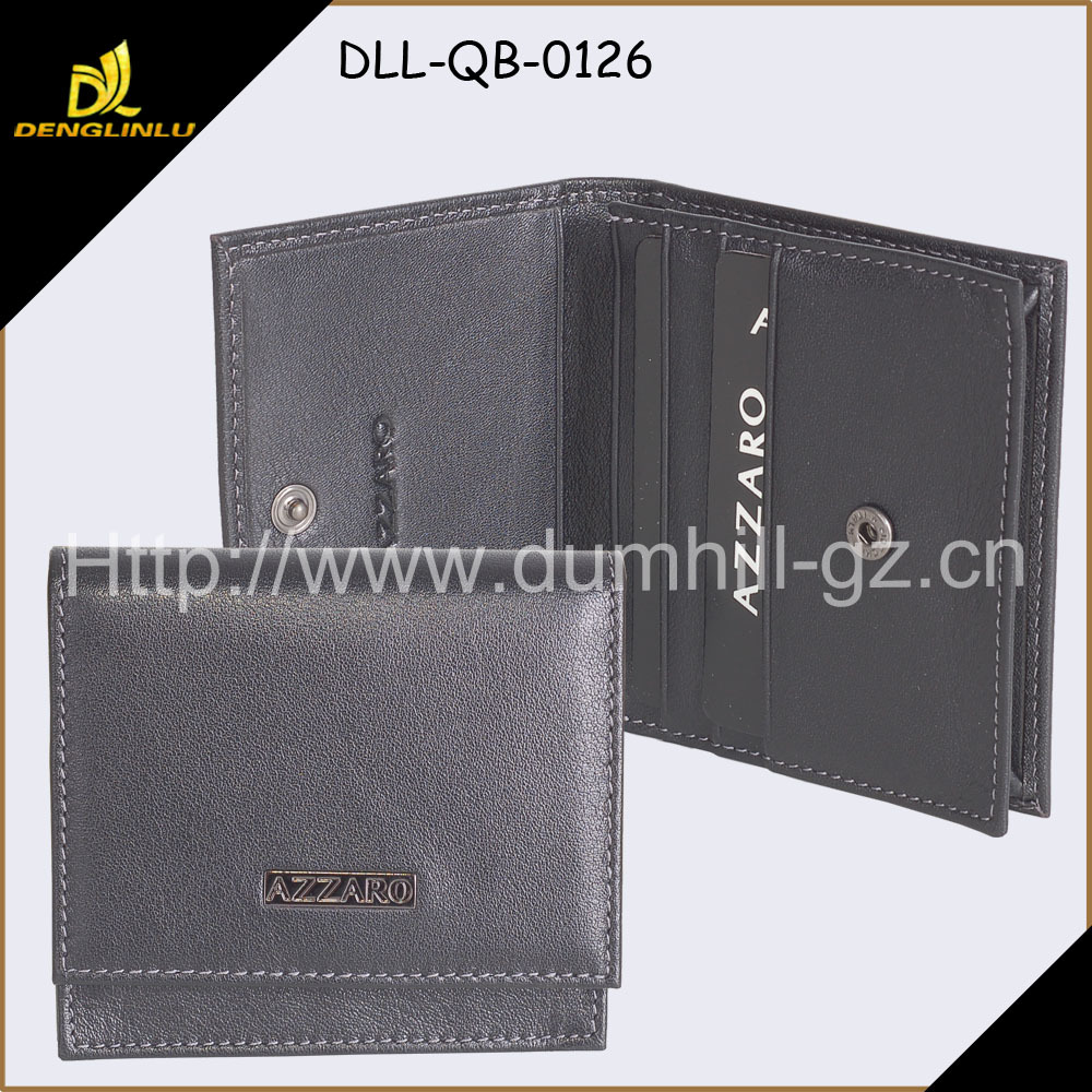 Leather Business wallet card case
