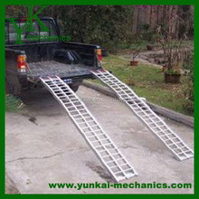 Aluminum electric wheelchair ramp, portable car ramp