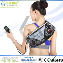 Abdominal Belt With Two Functions As Vibration Slimming And EMS Massage/hot slim belt