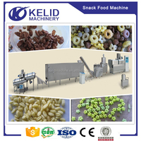 China supplier Mini commericial puff snack food production line