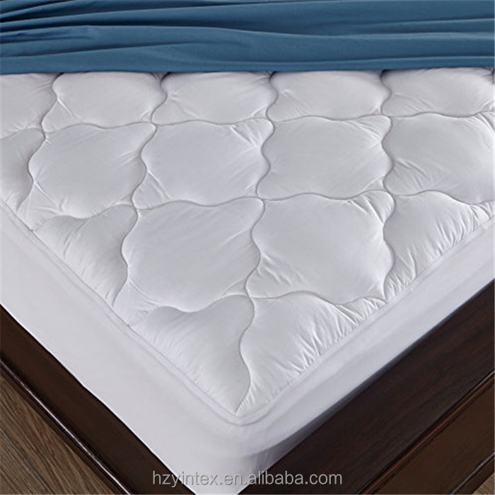 Dust Mite Down Alternative Microfiber Waterproof Hotel Mattress Pad - Jozy Mattress | Jozy.net
