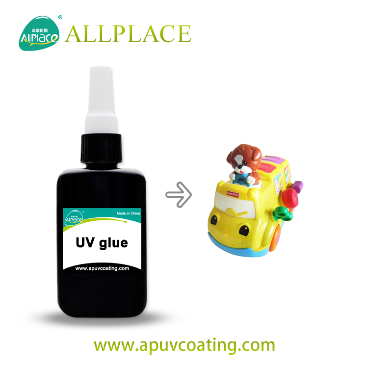 Factory Non Yellowing Loxeal UV Glue For Plastic