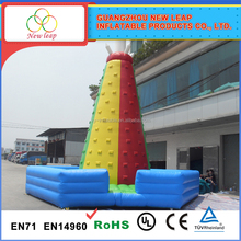 New product kids inflatable inflatable rock wall climbing