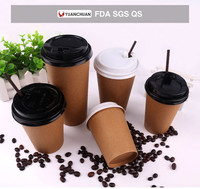 Disposable hot drink paper cups manufacturer
