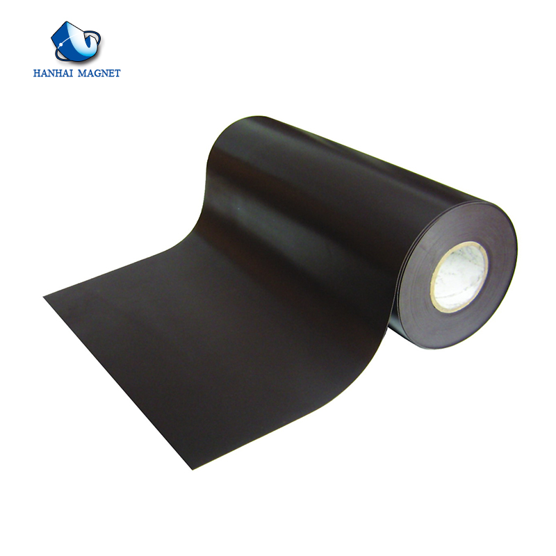 Rubber Coated Magnetic Roll Flexible Magnets