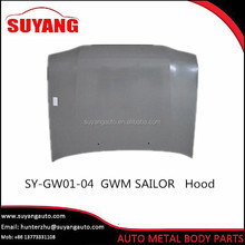Aftermarket steel engine hood for Great Wall Sailor auto body parts