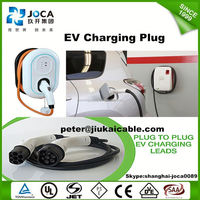 Dostar sae j1772 safety and durable plug ev charging station with evse