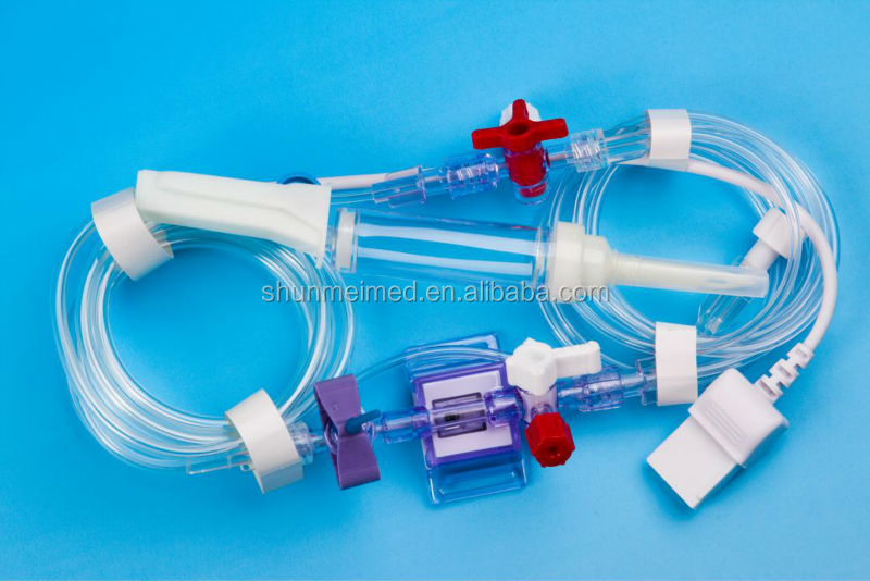IV cannal set/disposable blood pressure transducer
