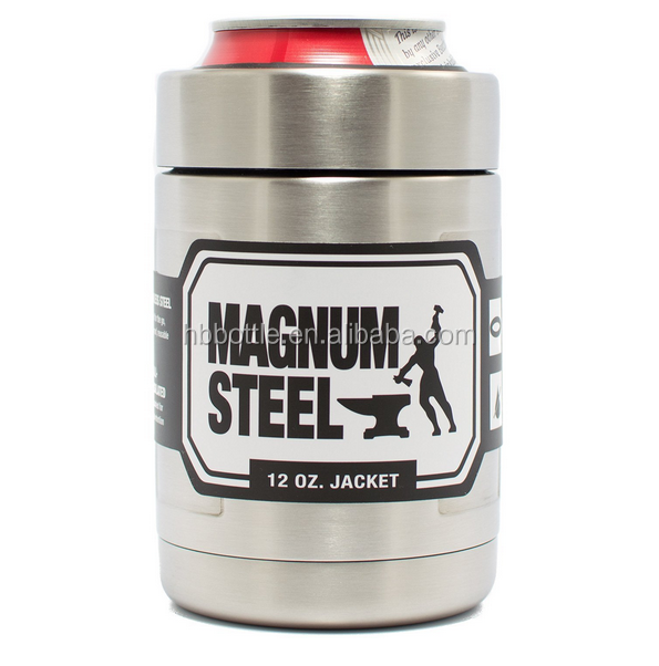 12oz stainless steel can cooler holder