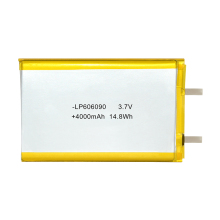 606090 Lithium Polymer Battery 3.7v 4000mah for power bank