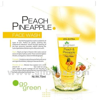 Peach Pineapple Facewash