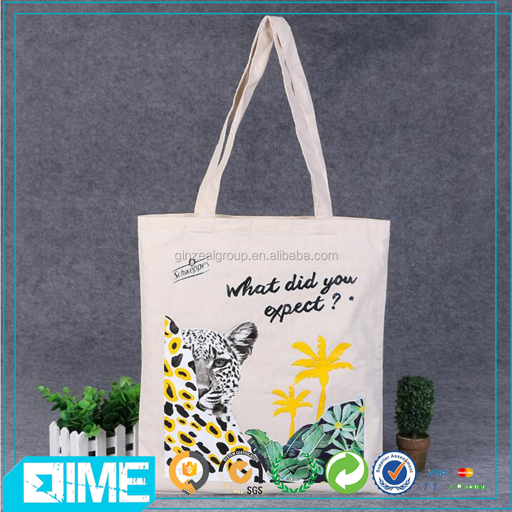 Customized Cotton Canvas Tote Bag,Cotton Bags Promotion,Recycle Organic Chinese School Bag