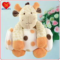Super plush cow toy fleece plush velvet blanket