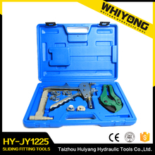 Reasonable price plastic box manual sliding fitting tools hydraulic cable crimping tool