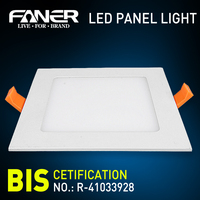 3 years warranty led panel light parts hot sale