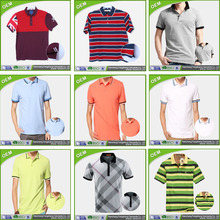 Mens Polo Size S M L XL 2XL 3XL 4XL 5XL Contrast Work Golf Shirt Top! striped collar and cuffs polo shirt