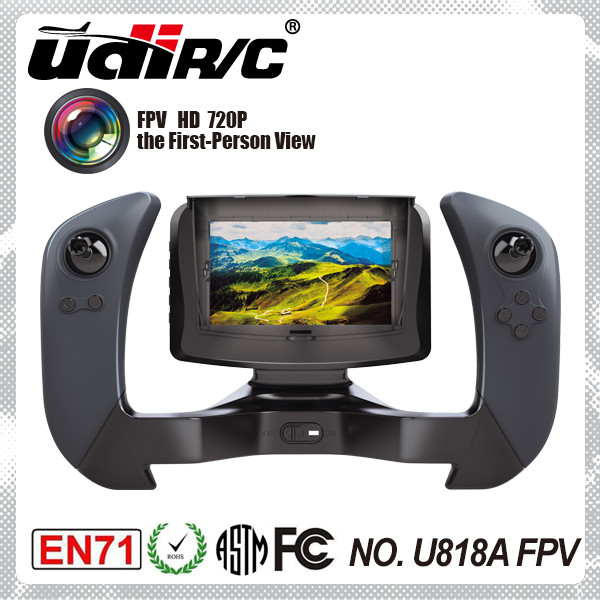 UDIRC 2016 NEWEST DISCOVERY RC hobby drone camera with monitor U818AFPV