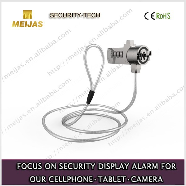 Mechanical Security notebook Cable Lock With password