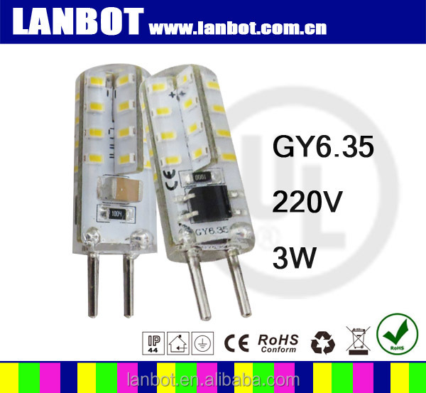 2016 our popular fast selling bulbs gy6.35 led light,led light to replace 25w halogen light