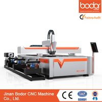 Swiss Design 500W Metal Tube and Plate Fiber Laser Cutting Machine