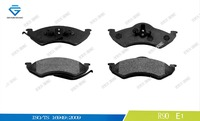 Front brake pad for DODGE D746 5014095AA