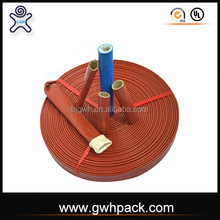silicone coated fiberglass fire sleeve for hydraulic hose pipe line wire heat protective