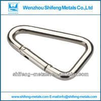 Delta shaped hook;triangle spring hook; delta hook