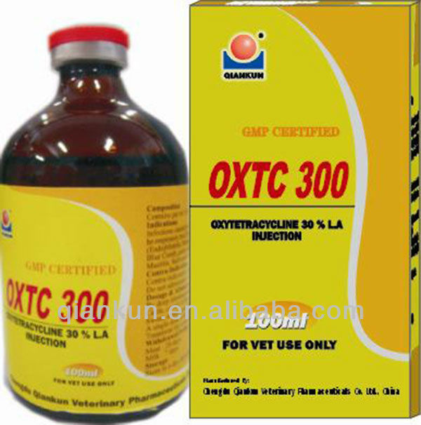 High Quality Poultry Drug:Oxytetracycline Injection 30% in Sichuan