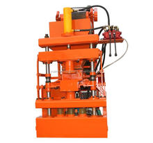environmentally friendly and locally produced 1-10 Clay Hollow Block Walls machine making